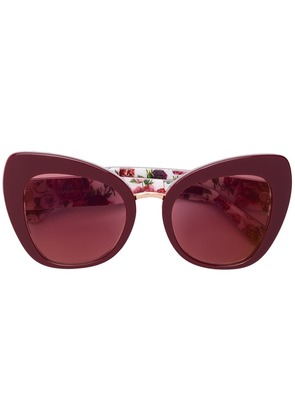 Dolce & Gabbana Eyewear cat-eye sunglasses - Red