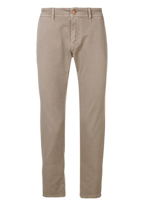 Barba classic slim-fit jeans - Neutrals