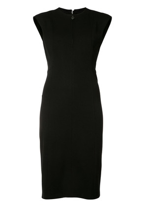 Akris Punto zipped neck dress - Black