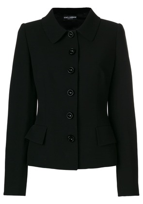 Dolce & Gabbana fitted jacket - Black