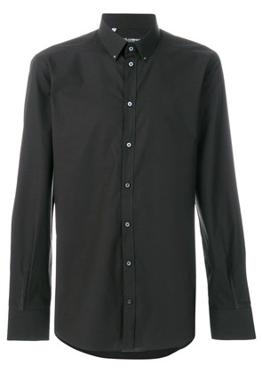Dolce & Gabbana classic long sleeved shirt - Black