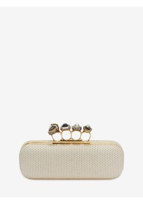ALEXANDER MCQUEEN FOUR-RING LONG CLUTCHES - Item 45432653