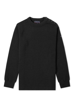 Armor-Lux 01901 Fouesnant Crew Knit Black