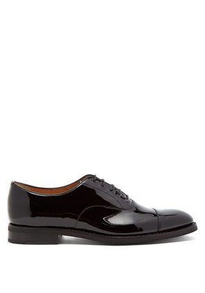 Church's - Consul Patent Leather Oxford Shoes - Womens - Black