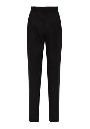 Calvin Klein 205w39nyc - Relaxed Wool Suit Trousers - Mens - Black