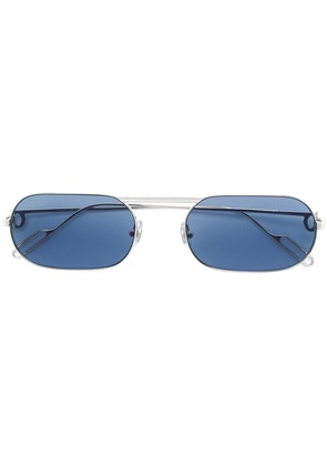 Cartier square frame sunglasses - Silver