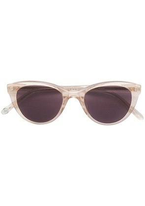 Garrett Leight x Clare V cat-eye sunglasses - Pink