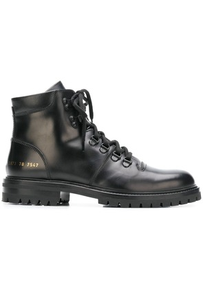 Common Projects Hiking boots - Black