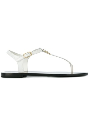 Dolce & Gabbana thong sandals - White
