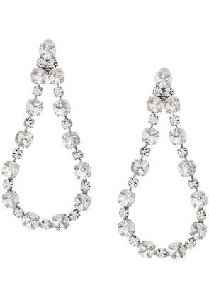 Ca & Lou clip-on drop earrings - White
