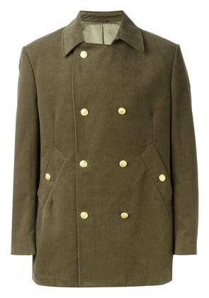 Fashion Clinic Timeless double breasted coat - Green