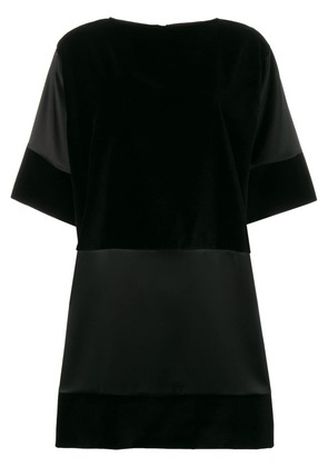 Gianluca Capannolo contrast panel dress - Black