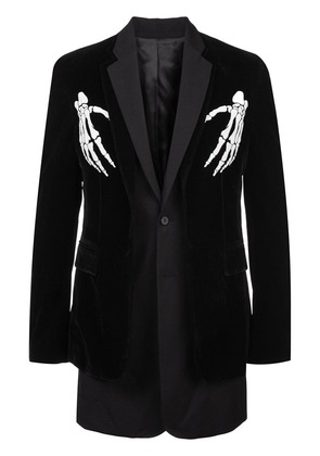 D.Gnak skeleton blazer - Black