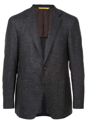 Canali single breasted blazer - Brown