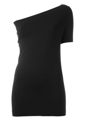 Helmut Lang assymetric seamless T-shirt - Black