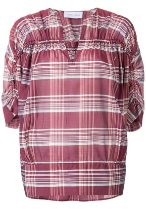 Christian Wijnants ruched detailed blouse - Red