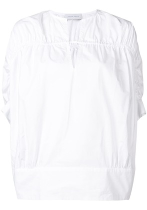 Christian Wijnants ruched detailed blouse - White