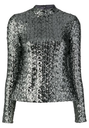 Alexis sequinned top - Silver