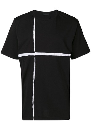 Diesel Black Gold contrasting inlay oversized T-shirt