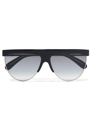 Givenchy - D-frame Acetate And Gold-tone Sunglasses - Black