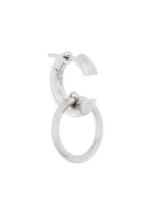 Maria Black double hoop earring - Metallic