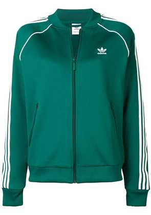 Adidas classic branded jacket - Green