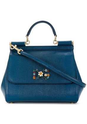 Dolce & Gabbana Jewelled Sicily bag - Blue