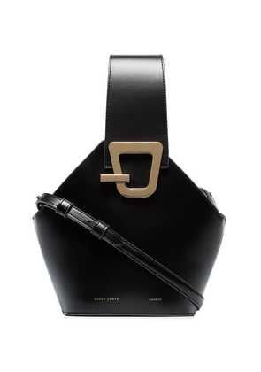 Danse Lente black johnny mini leather shoulder bag