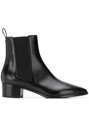 Aeyde elasticated side panel boots - Black