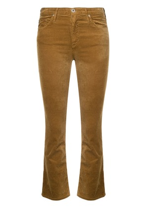 Ag Jeans Jodi flared cropped jeans - Brown