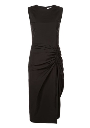 Carolina Herrera gathered front pencil dress - Black