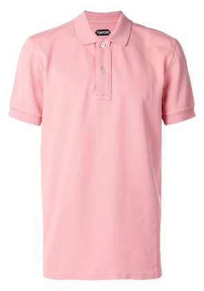 Tom Ford short sleeve polo shirt - Pink