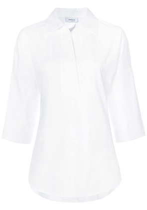 Akris Punto three-quarter sleeve blouse - White