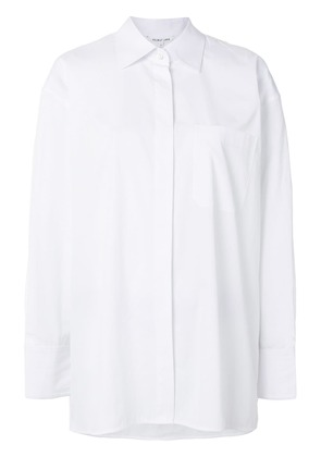 Helmut Lang oversized shirt - White