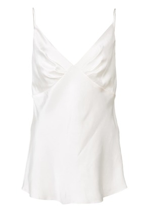 Zimmermann sweetheart neck camisole top - White