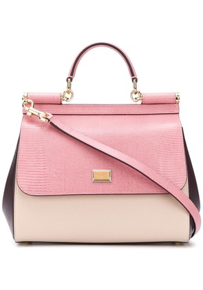 Dolce & Gabbana Sicily shoulder bag - Pink