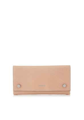 LAINA Ballet Pink Grainy Leather Wallet