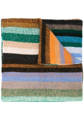 The Elder Statesman striped scarf - Multicolour
