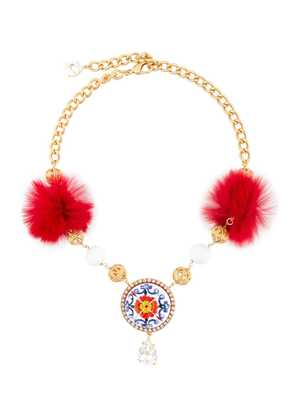 Dolce & Gabbana decorative necklace - Metallic