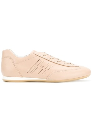 Hogan 'Olympia' lace up sneakers - Neutrals