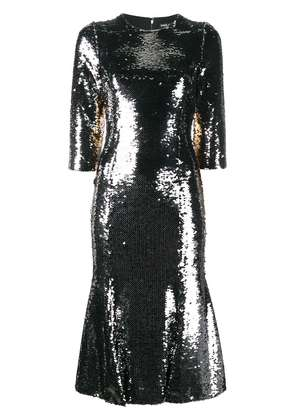 Dolce & Gabbana sequin embellished dress - Metallic