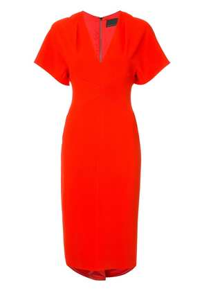 GINGER & SMART Endure fitted dress - Red