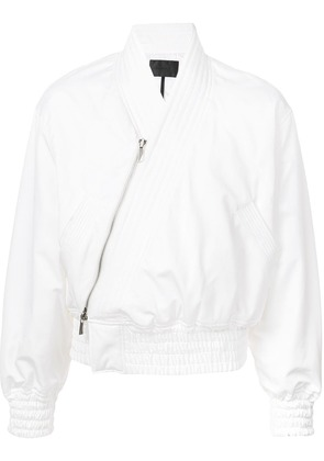 D.Gnak cropped jacket - White