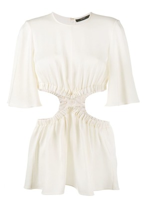 Ellery cut-out sides top - Neutrals