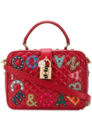 Dolce & Gabbana Dolce shoulder bag - Red