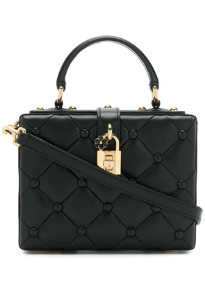 Dolce & Gabbana Dolce box shoulder bag - Black