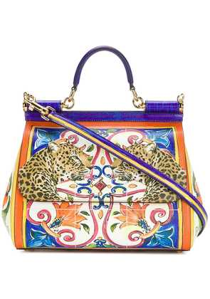 Dolce & Gabbana Sicily printed shoulder bag - Multicolour