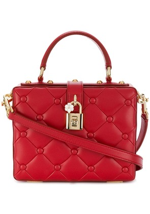 Dolce & Gabbana Dolce box shoulder bag - Red