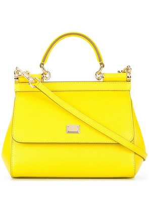 Dolce & Gabbana small Sicily shoulder bag - Yellow