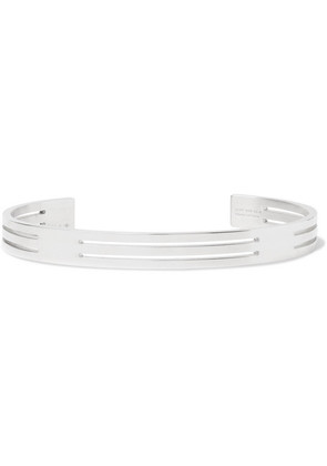 Le Gramme - Le 19 Polished Sterling Silver Cuff - Silver